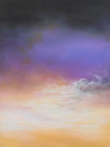 Skyer - 2011 - 80X60 - Olie på lærred - Maleri haves ikke længere